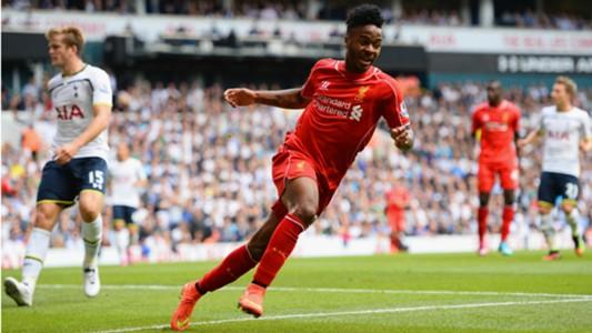 Raheem Sterling Liverpool Premier League 310814