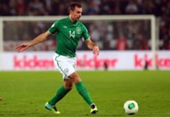 Ireland midfielder Darron Gibson