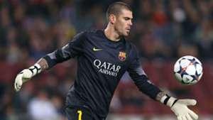 Victor Valdes Barcelona Champions League
