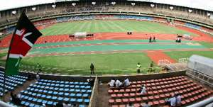 Kenya Kasarani Stadium.