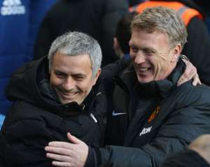 Moyes and Mourinho_Manchester United_Chelsea