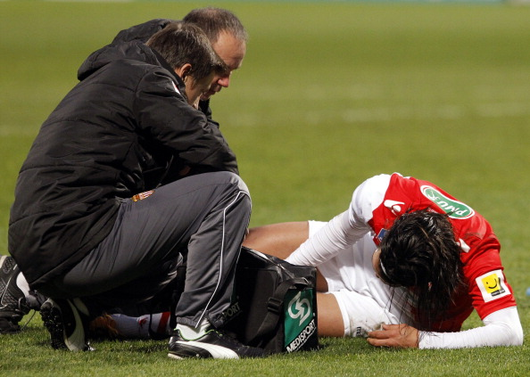 Falcao García - Monaco injury