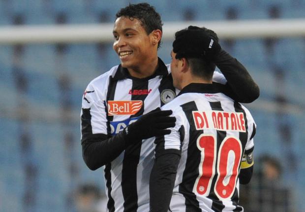 Luis Muriel and Antonio Di Natale - Udinese