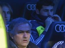 Jose Mourinho and Iker Casillas