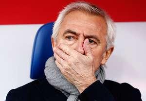 Bert van Marwijk Hamburger SC Eintracht Braunschweig Bundesliga 02152014
