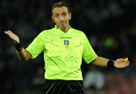 Mazzoleni dirigerà Fiorentina-Roma