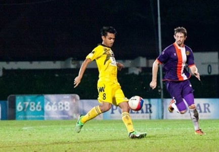 Tampines Rover midfielder Shahdan Sulaiman