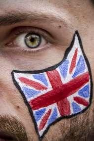 britain flag, fan