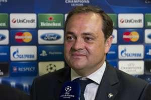 Real Sociedad president Jokin Aperribay