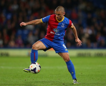 Crystal Palace's Kevin Phillips in action