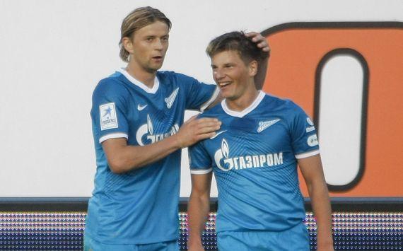FC Zenit St. Petersburg vs FC Kuban Krasnodar, Anatoliy Tymoschuk, Andrey Arshavin