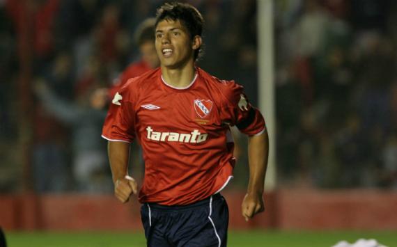 Sergio Aguero Independiente 2005