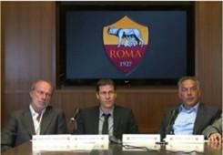 Walter Sabatini, Rudi Garcia and James Pallotta - As Roma