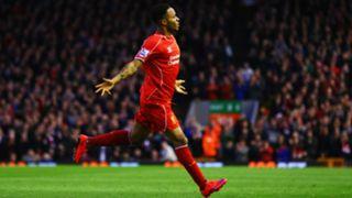 Raheem Sterling Liverpool Premier League 13042015