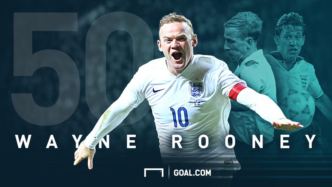 Wayne Rooney 50 England goals