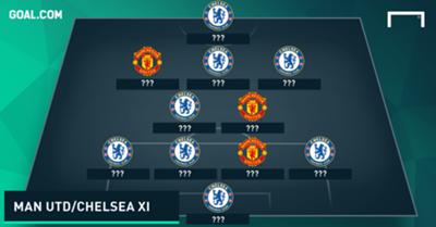 Man Utd Chelsea Combined XI