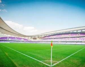 Hazza bin Zayed Stadium in Al Ain UAE