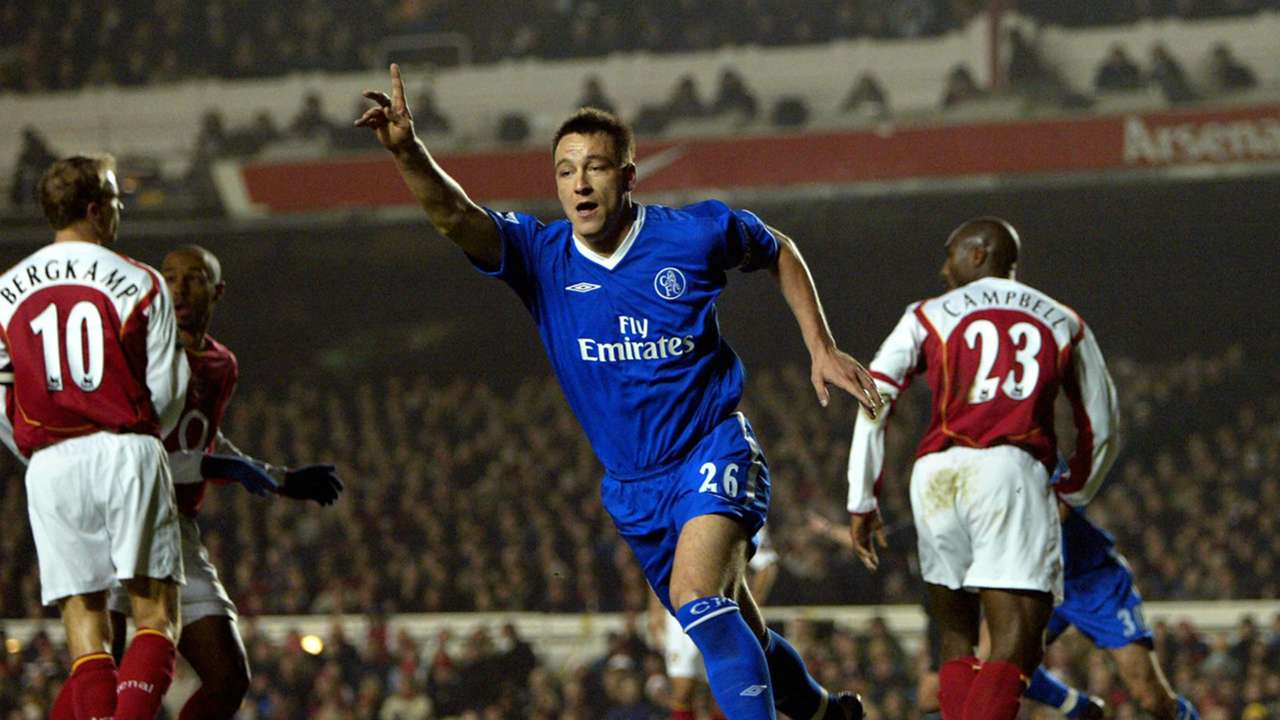John Terry v Arsenal - Dec 12, 2004