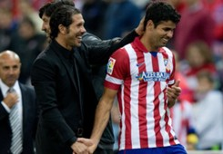 Atletico Madrid Diego Costa Diego Simeone