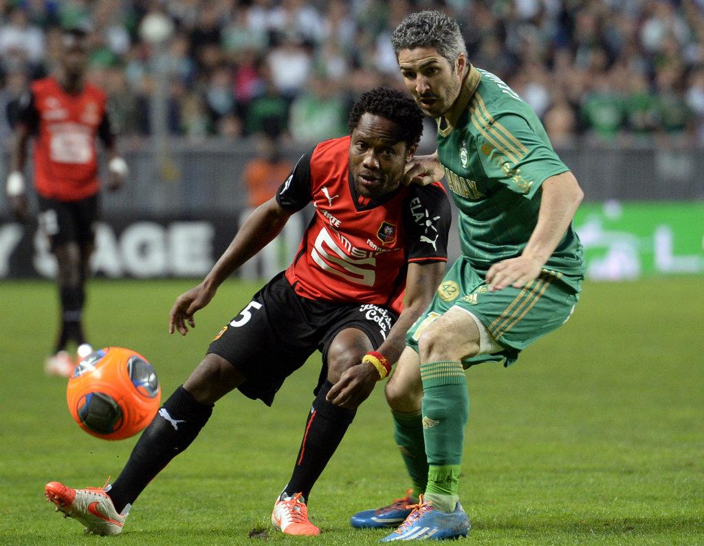 Jean II Makoun Fabien Lemoine Saint-Etienne Rennes Ligue 1 04182014