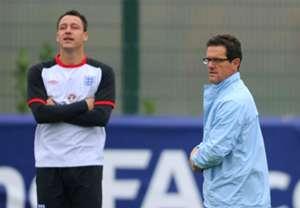 HD John Terry Fabio Capello England