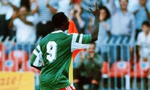 Roger Milla Cameroon Colombia World Cup 1990