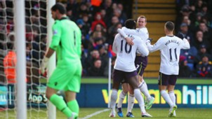 Romelu Lukaku Kevin Mirallas Julian Speroni Crystal Palace Everton Premier League 31012015