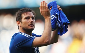 Frank Lampard Chelsea Premier League 2013-14