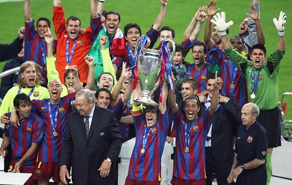 Barcelona (Spain) Champions League champions - 2006