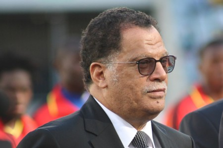 Danny Jordaan, Chan, January 2014
