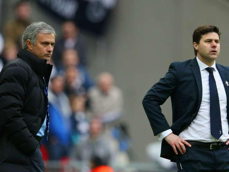 Image result for mourinho and pochettino