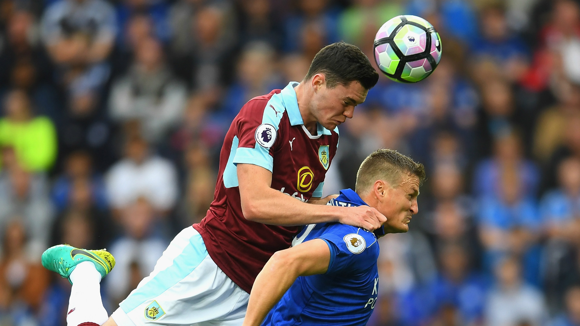 HD Michael Keane Leicester Burnley