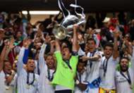 Iker Casillas Trophy Real Madrid Atletico Madrid Champions League final 05242014