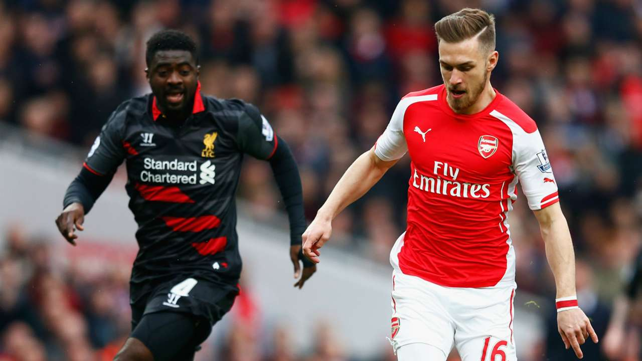 Aaron Ramsey Arsenal Liverpool 04042015