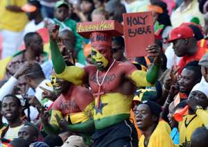 Ghana fans at 2013 Afcon