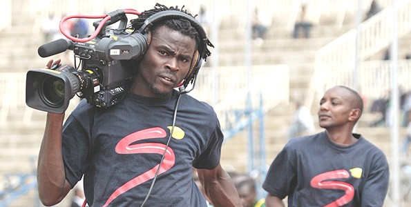 Kenya Supersport cameraman.