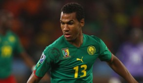 Cameroon forward Eric Maxim Choupo-Moting