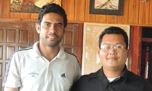 Khalid Jamil Thangboi Singto Shillong Lajong FC vs Mumbai FC I-League