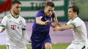 Kylian Hazard at Ujpest
