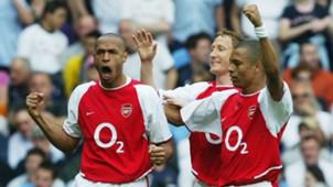 Thierry Henry Gilberto Silva Arsenal
