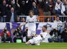 Sergio Ramos, Luka Modric - Real Madrid v Barcelona - Clasico