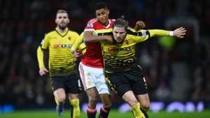Marcus Rashford Premier League Manchester United v Watford