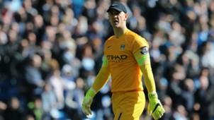 Joe Hart Premier League Manchester City v West Brom 210315