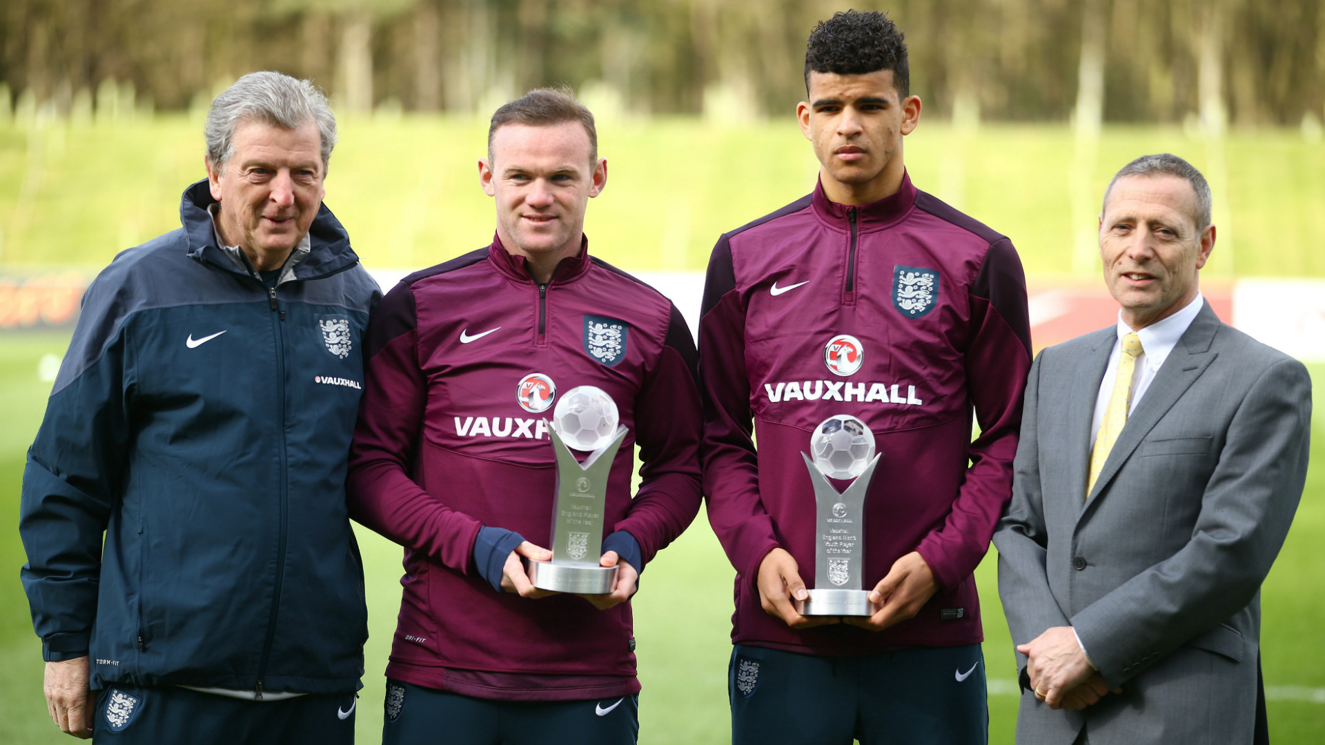 Wayne Rooney Dominic Solanke England training session 24032015