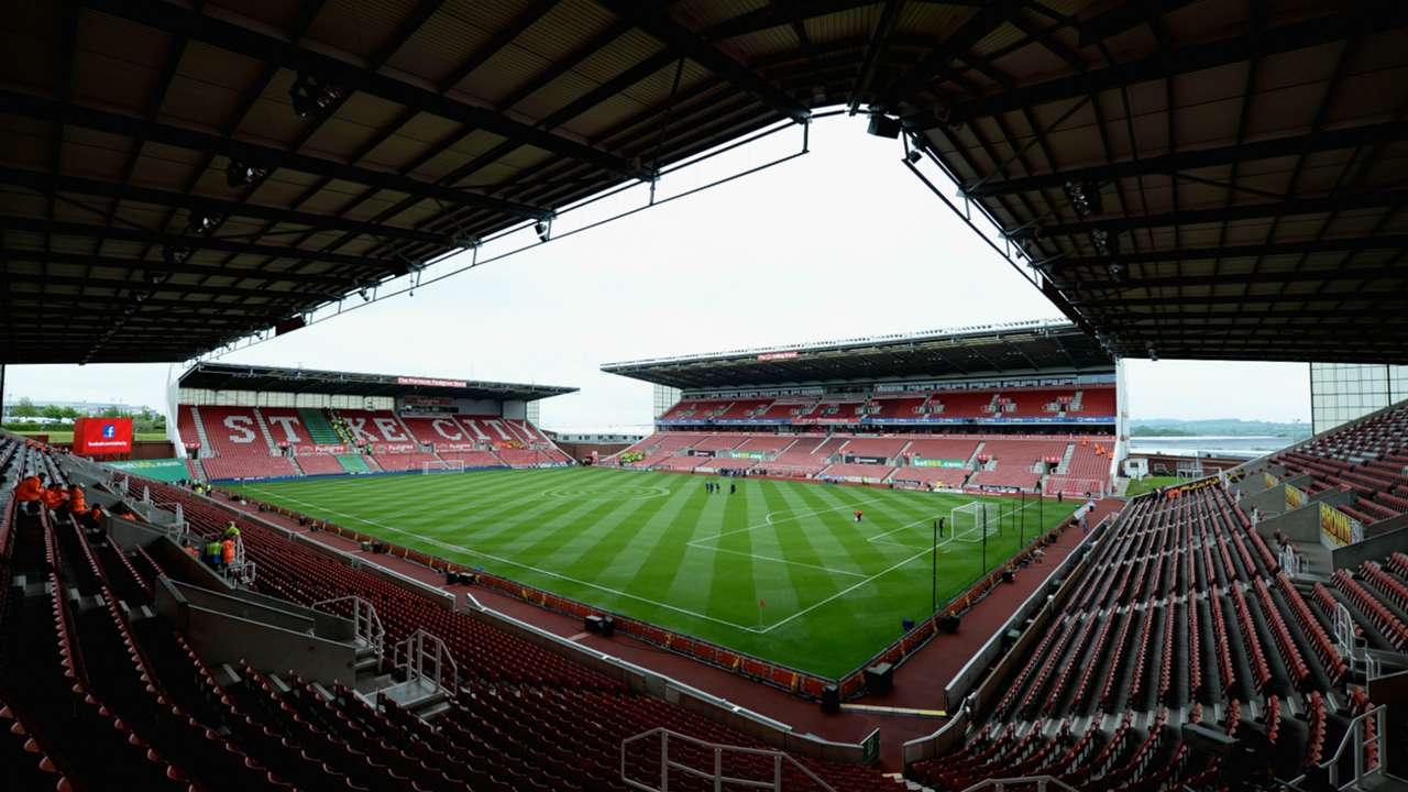 Stoke City Britannia Stadium Premier League 24052015