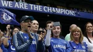 Chelsea fans Premier League 24052015