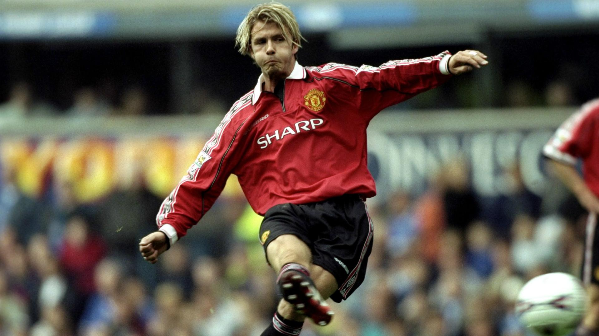 David Beckham Manchester United 1999-2000