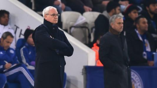 Leicester Chelsea Ranieri Mourinho