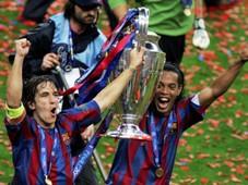 Carles Puyol Ronaldinho Barcelona European Cup Champions League 2006 PUYOLSS