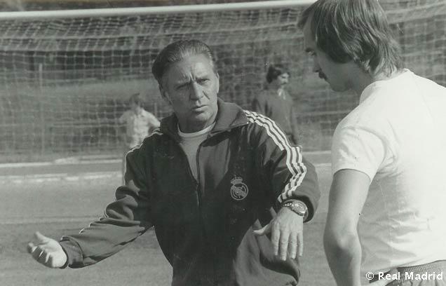 Luis Molowny, mítico entrenador del Real Madrid